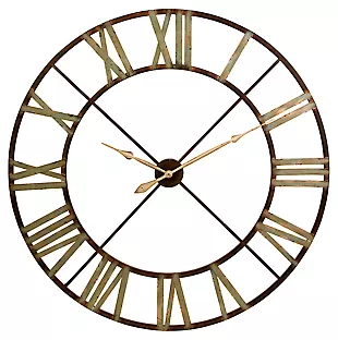 Imax Myles Wall Clock In 2020 Metal Wall Clock Wall Clock Oversized Wall Clock