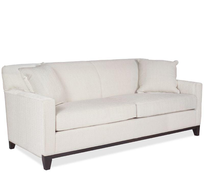 Boston Interiors Cassandra Queen Sleeper With Dreamquest Mattress Sofa Cushions On Sofa Innerspring Mattresses