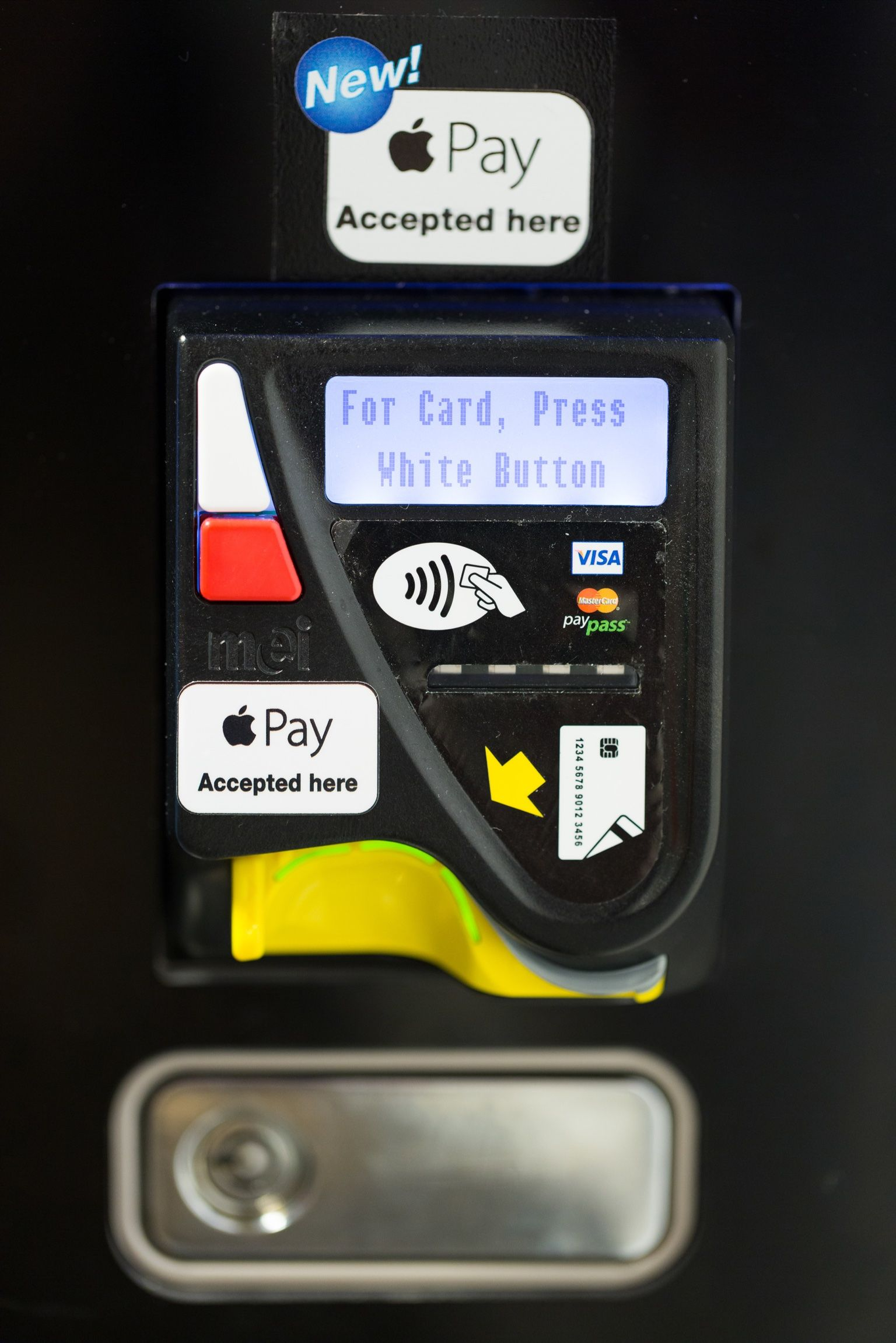 Apple pay, contactless payment systems on all our media