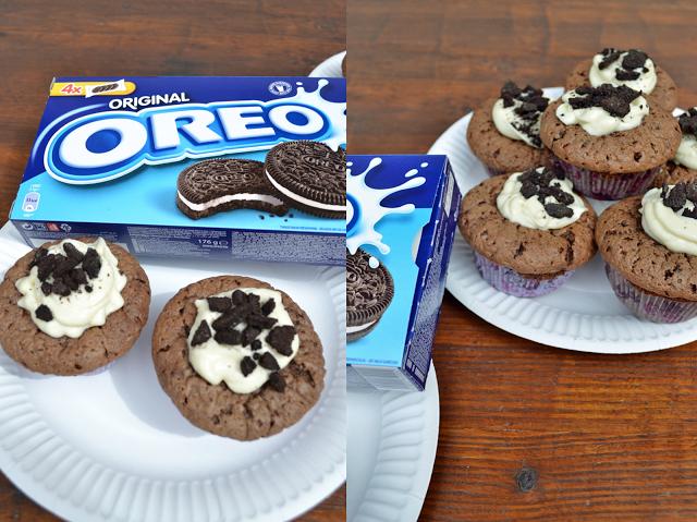 Atemlos: NACHGEBACKEN - Oreo Cupcakes auf http://www.atemlosblog.de/2013/05/67-sweet-recipe-oreo-cupcakes.html
