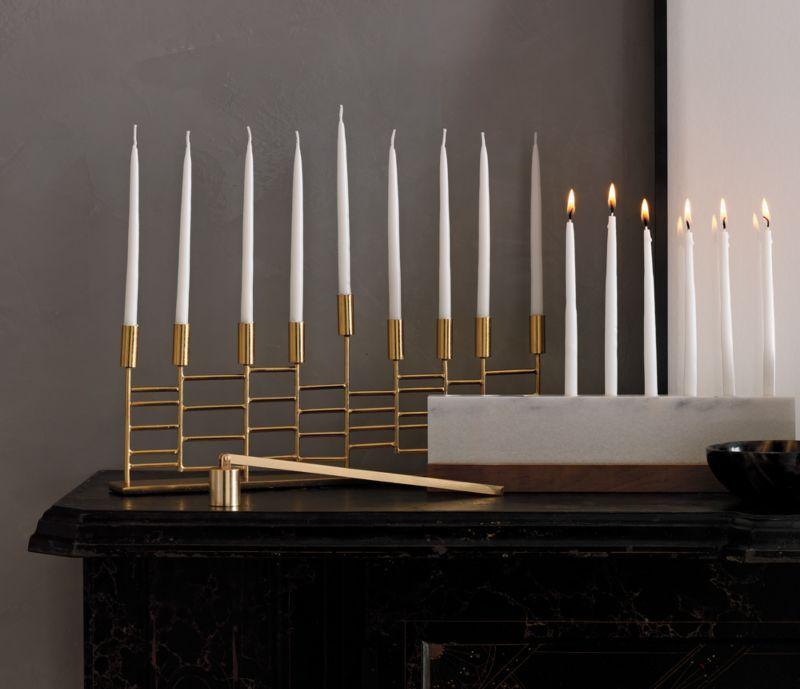 Set Menorah Candles