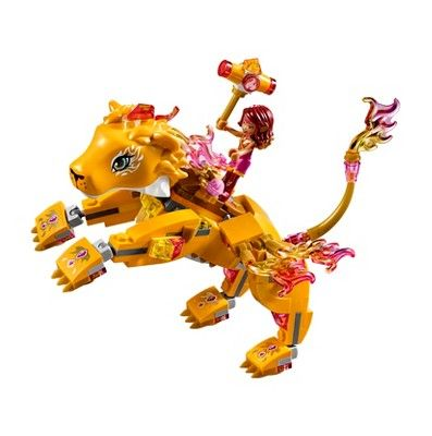 Lego Elves Azari & the Fire Lion Capture 41192 Lego