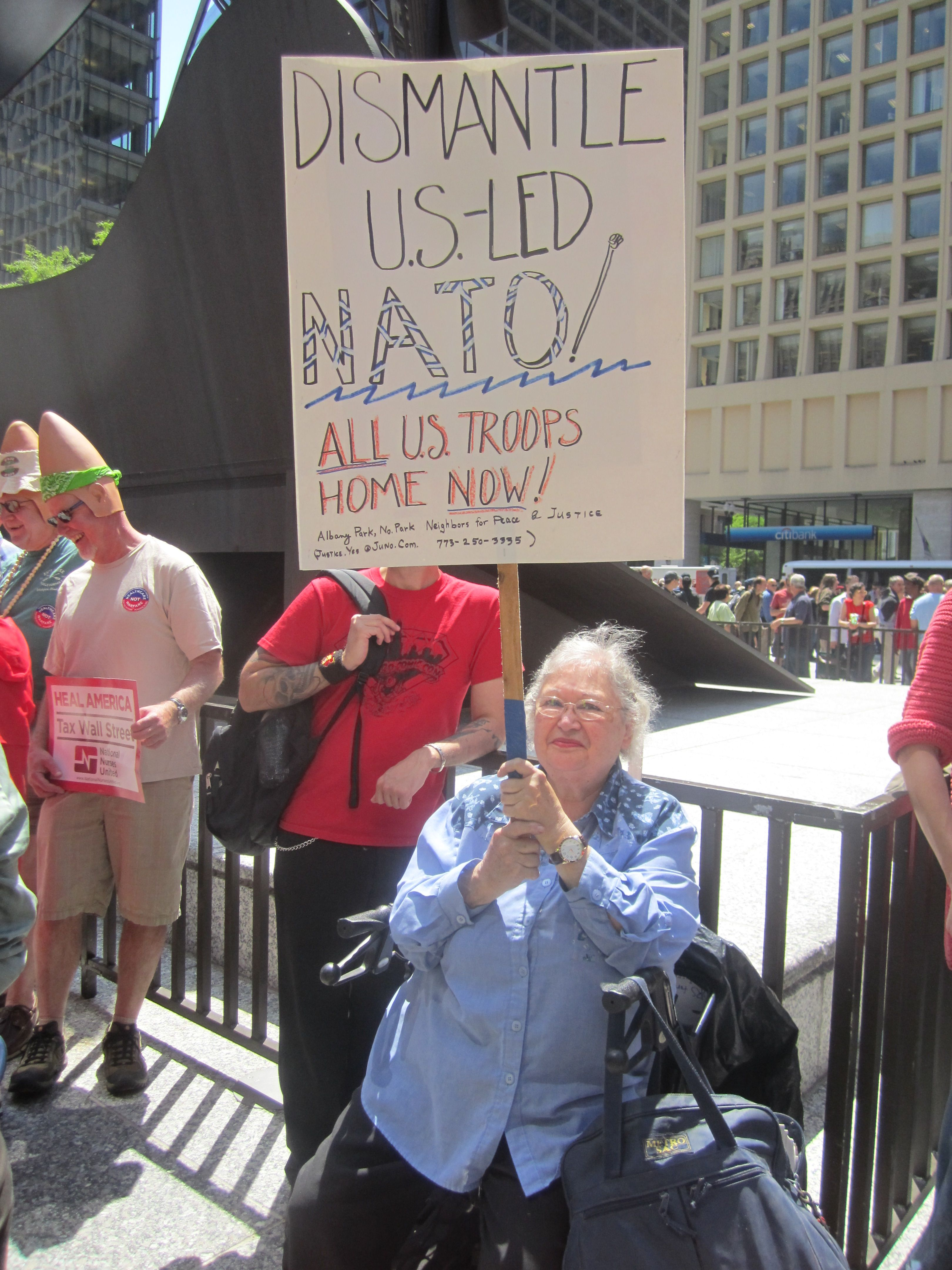 Grandmas Who Protest Nato Protest Val America
