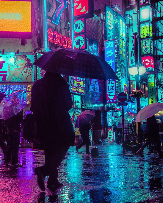 Lluvia de neones las fotografías nocturas de Tokio de Liam Wong - Cultura Inquieta