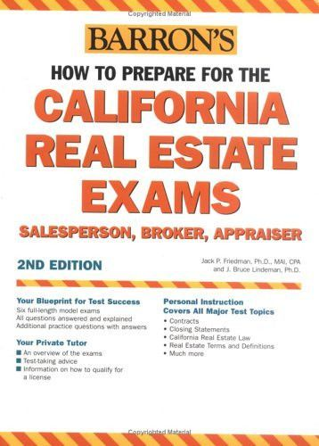 How To Prepare For The California Real Estate Exam Salesperson