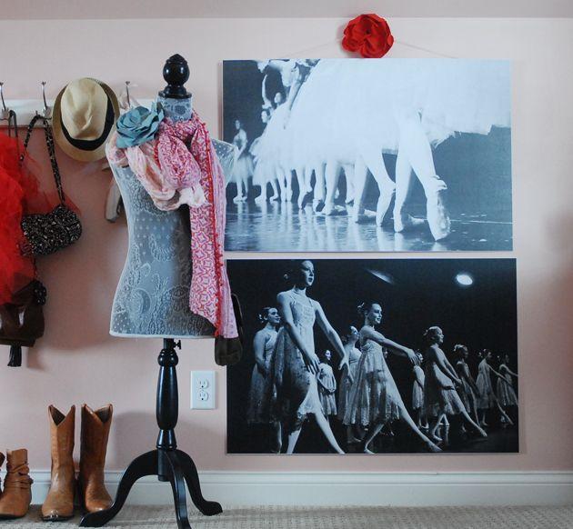 DIY large photo prints! Hobby Lobby will mount on Foam Board