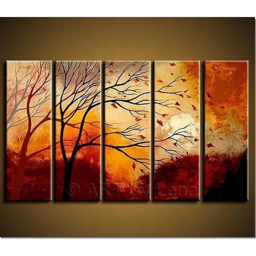 wall art painting 5 pieces canvas sets modern wall art 36x60