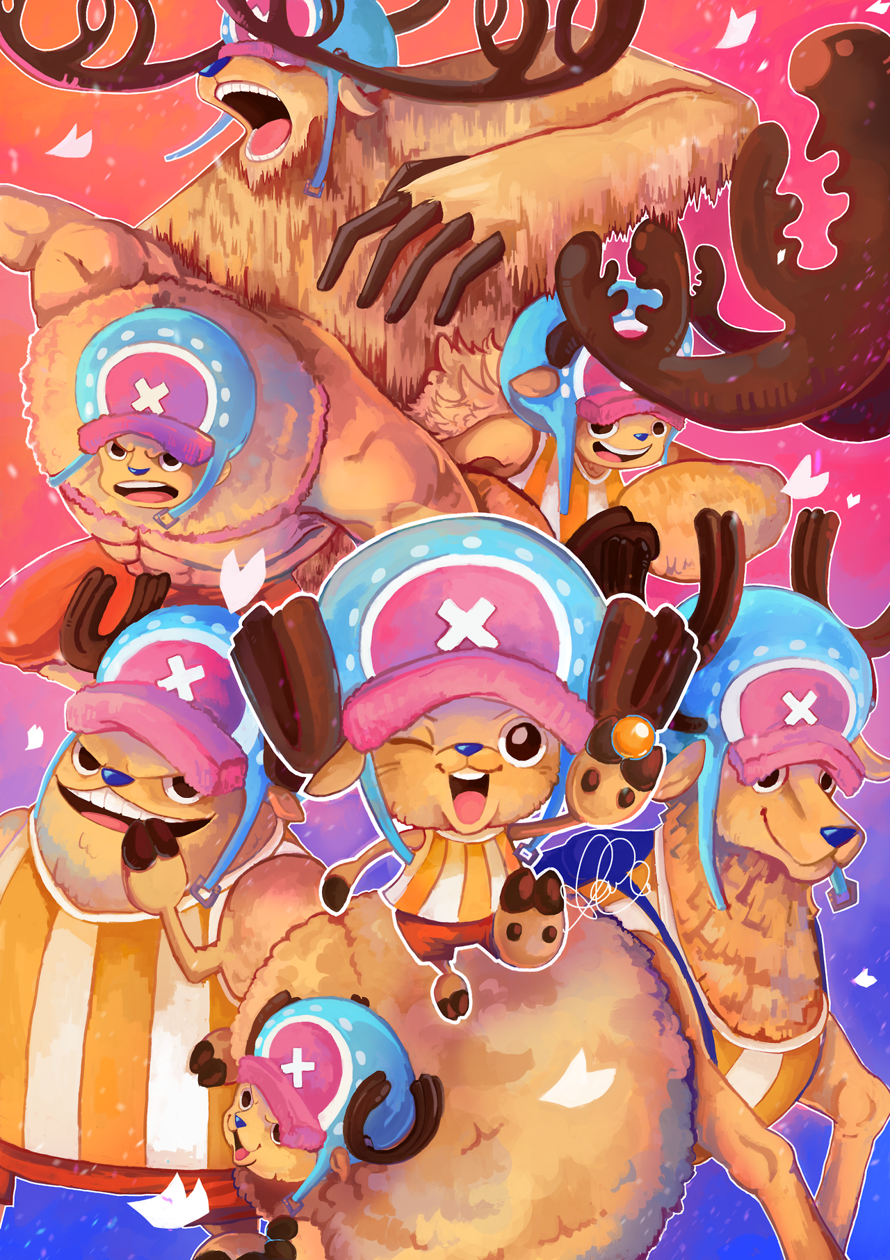 rumble one piece chopper one piece anime one piece funny