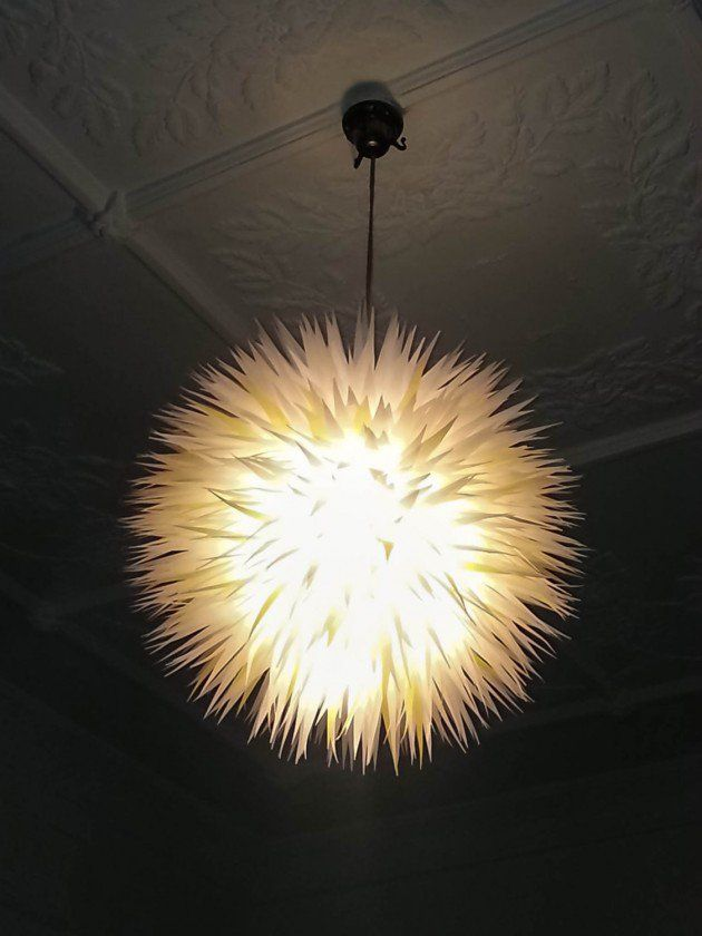 artistic lighting and designs. 25 Artistic Handmade Paper Lampshades Artistic Lighting And Designs
