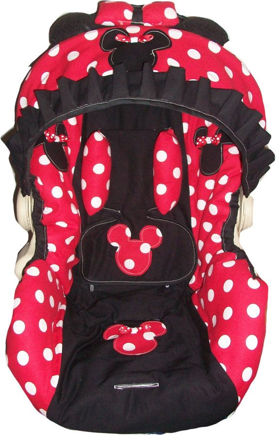 Red And White Polka Dot Minnie Mouse Infant By Dreammakersdesign