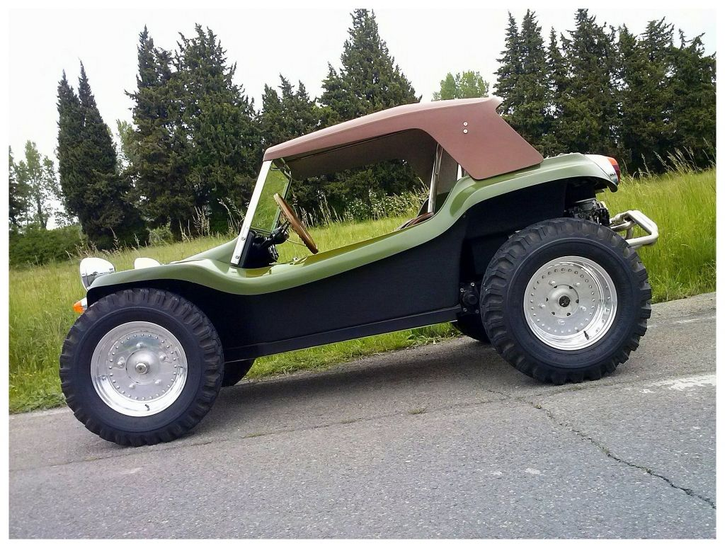 Dune Buggy Military Green Nice Wheels Tires Make A Vehicle Look Awesome