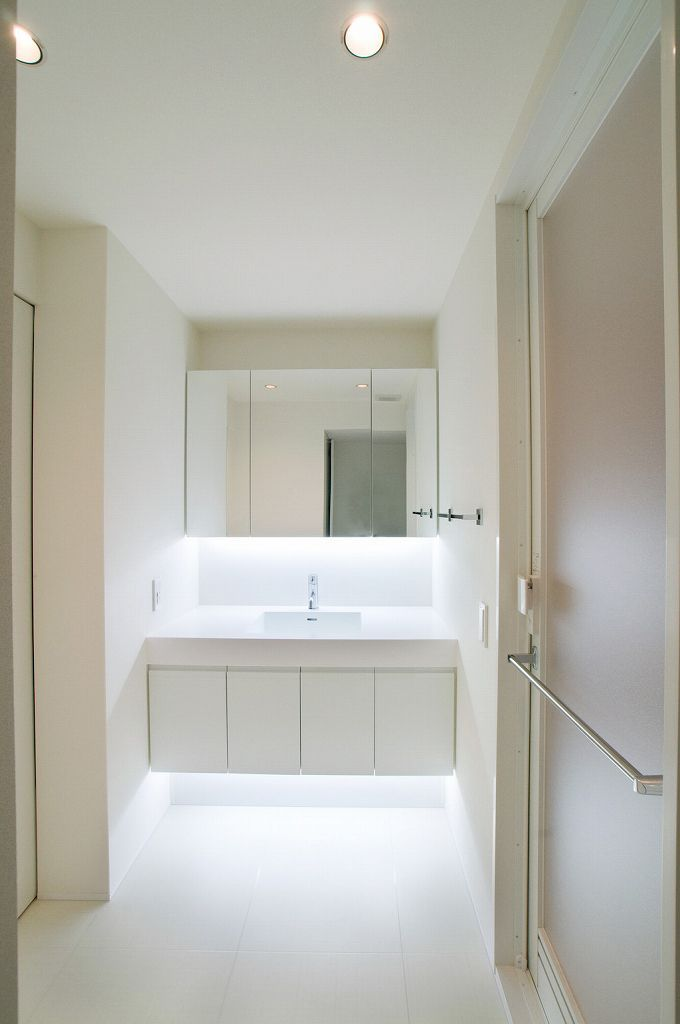 洗面室 施工例 マキハウス 福岡の注文住宅 戸建分譲
