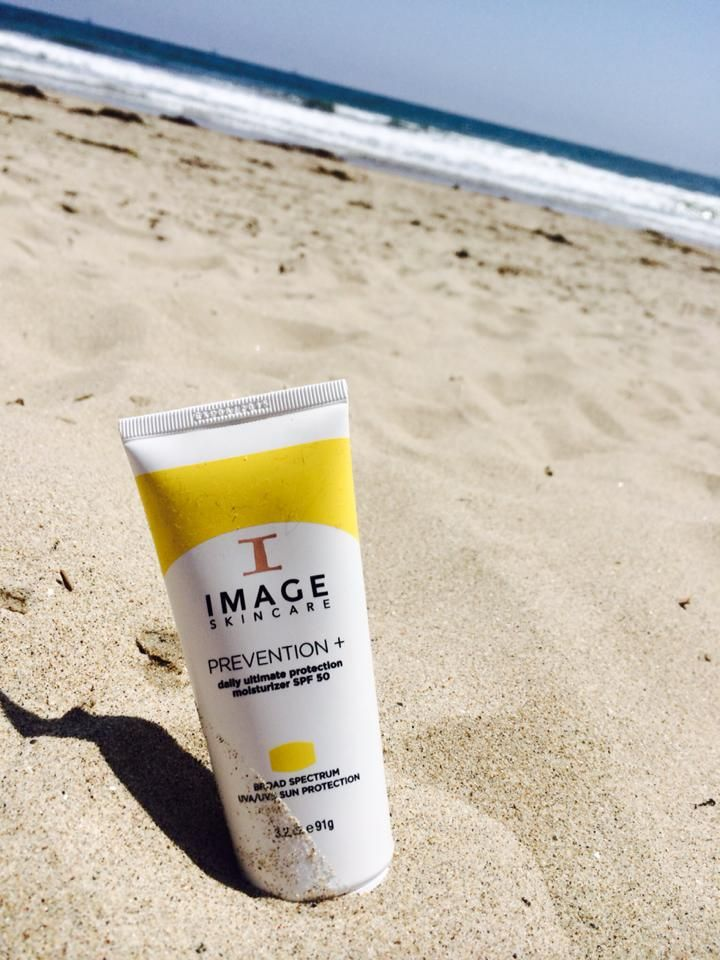 Using Prevention+ at the beach is a must during the summer days!