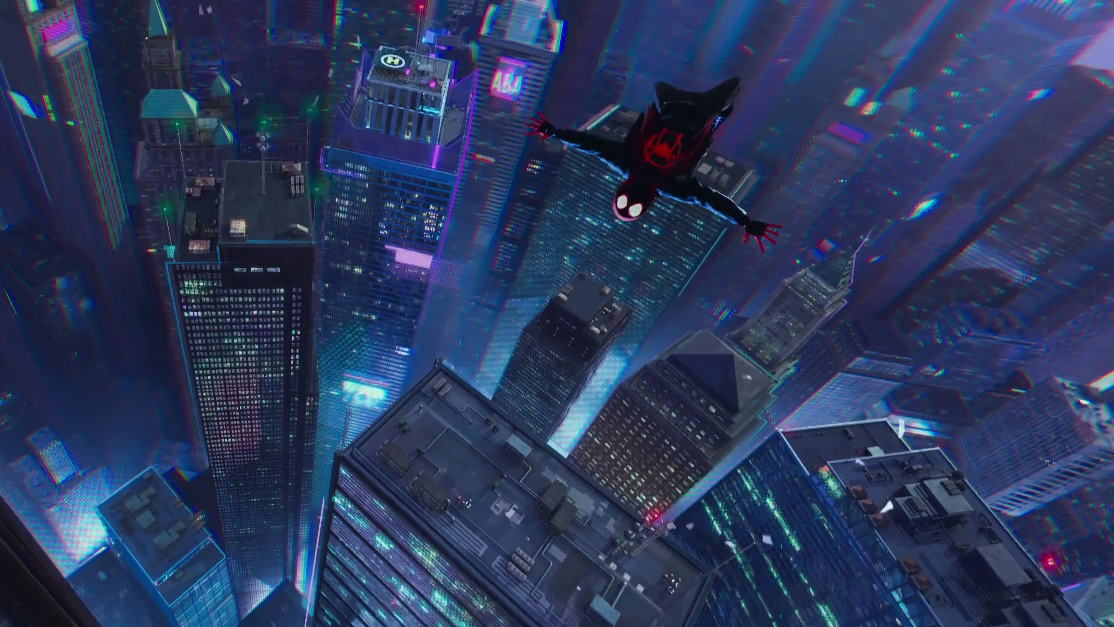 General 3840x2160 Spider Man Into The Spider Verse Miles Morales Spider Man Marvel Comics Movies Animate Marvel Comics Wallpaper Marvel Wallpaper Spider Verse