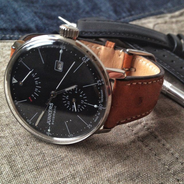 1eef5b639b2c Junkers Bauhaus Automatic   • Watches •   Watches for men, Watches ...