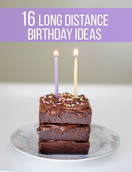The Best Birthday Ideas For Friends And Family Who Live Far Away