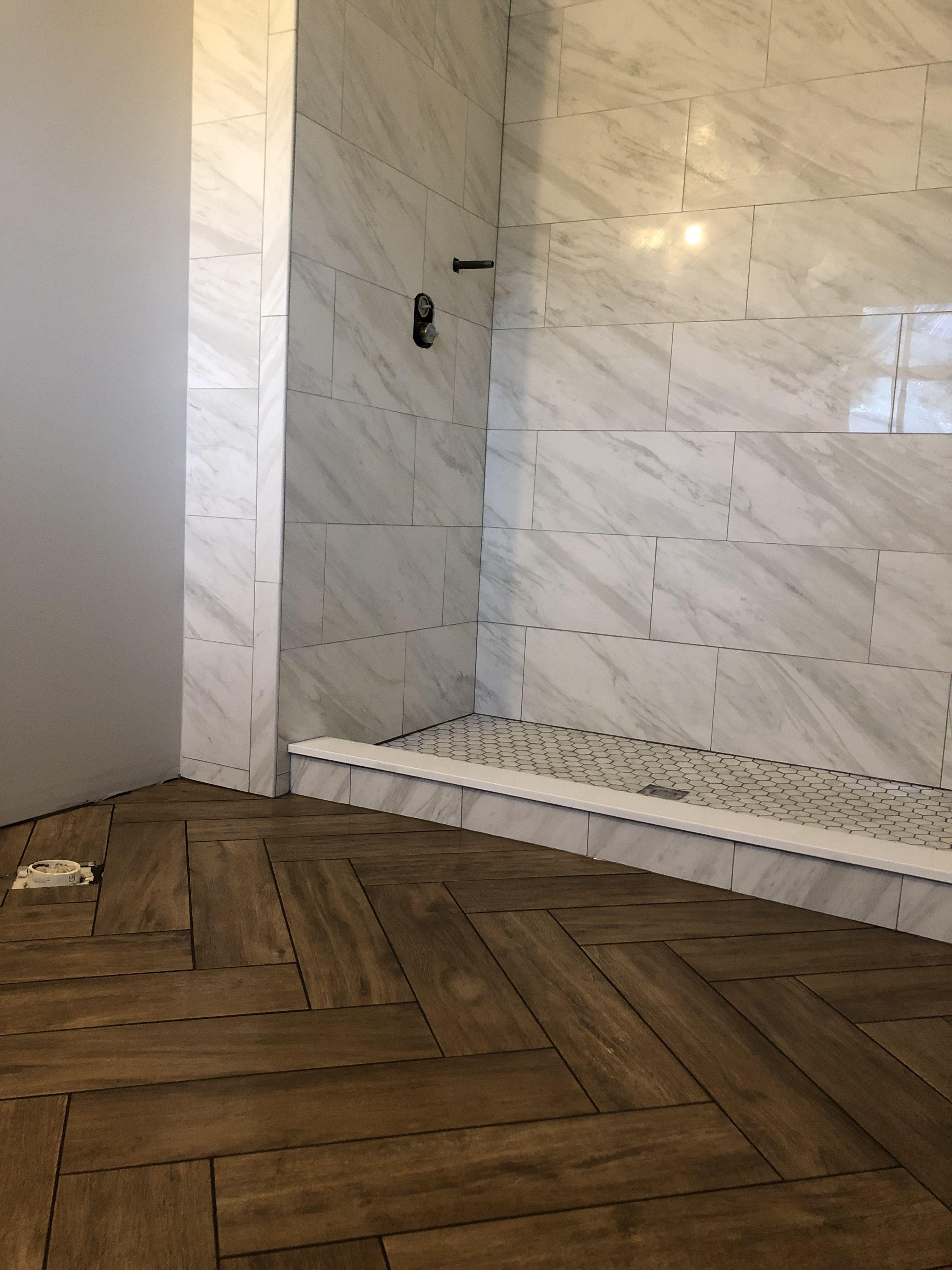 Pin by ruslan khalikov on new shower Wood floor bathroom