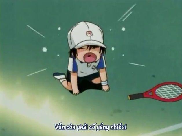 """""""Mada mada dane"""" vừa nói câu này mà vừa khóc thật k phải là Ochibi, dễ thương ghê =))))"""