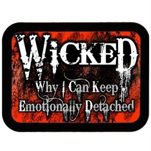 Cycle Heart. Wicked Emotionally Detached Patch