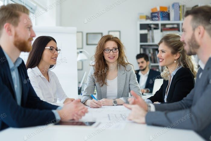 See More Details For Business Meeting And Teamwork By Business