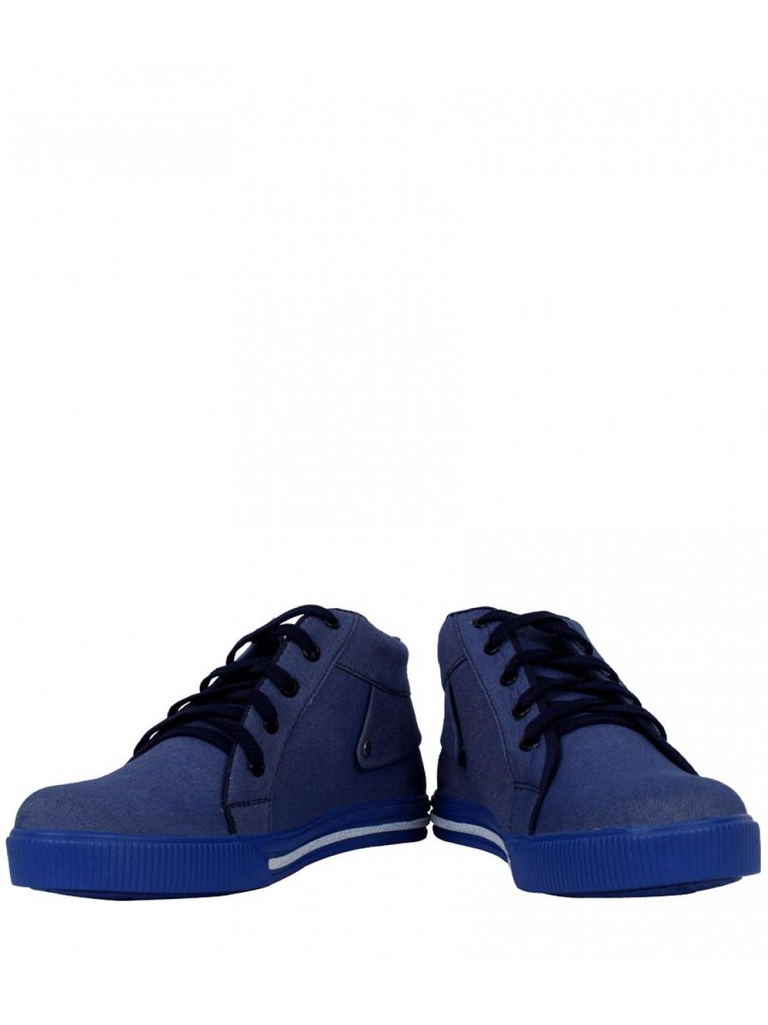 Elvace Blue Canvas Sneakers Men Shoes -  Buy Online Elvace Blue Canvas Sneakers Men Shoes Wear matching Footwear to look superb and trendy with this ultimate pair of Elvace Blue Canvas Sneakers Men Shoes, Classy, comfortable and contemporary crafted by skilled workmanship. Crossing over the foot, take a step into a sensuous, stylized, confident and mod way at Click2Door.
