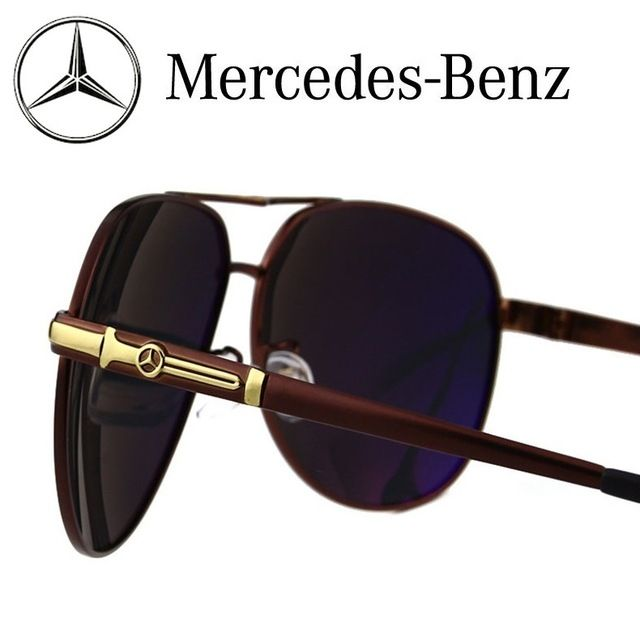 35b90b5fe44 Mercedes-Benz Sunglasses Polarized Sports Men Coating Mirror Driving Sun  Glasses oculos Male  Mercedes  Eyewear Accessories