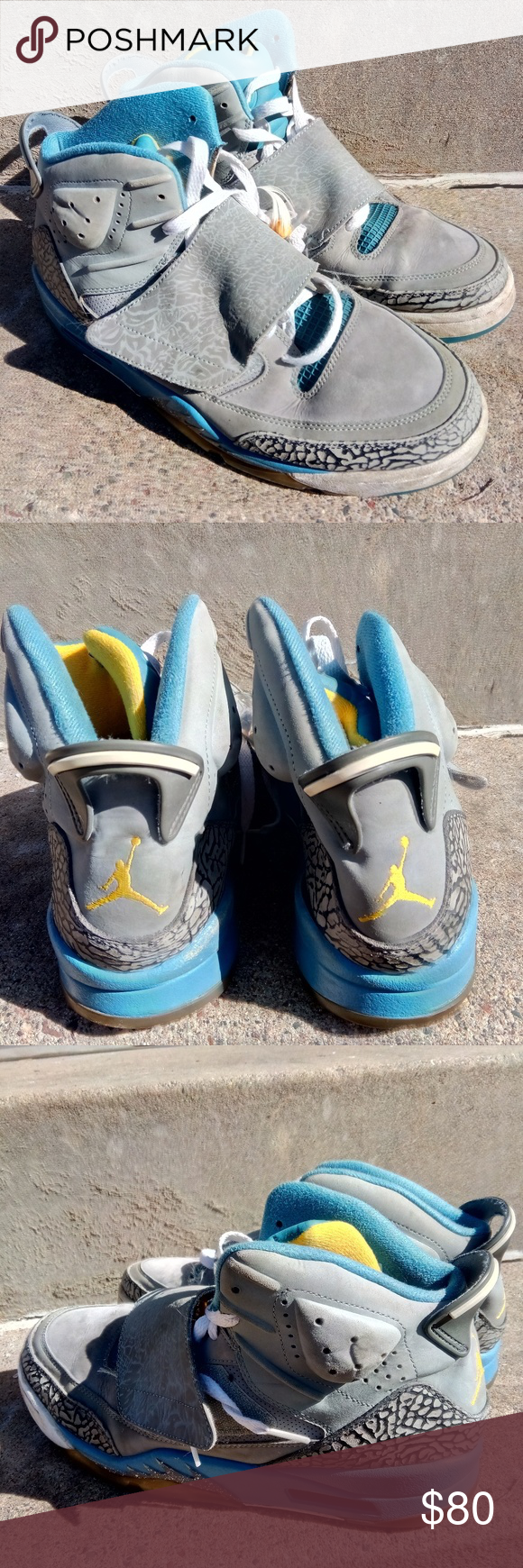 50968e89dfe Nike Air Jordan Son Of Mars Size 11 Air Jordan Son Of Mars Shaded Blue  512245