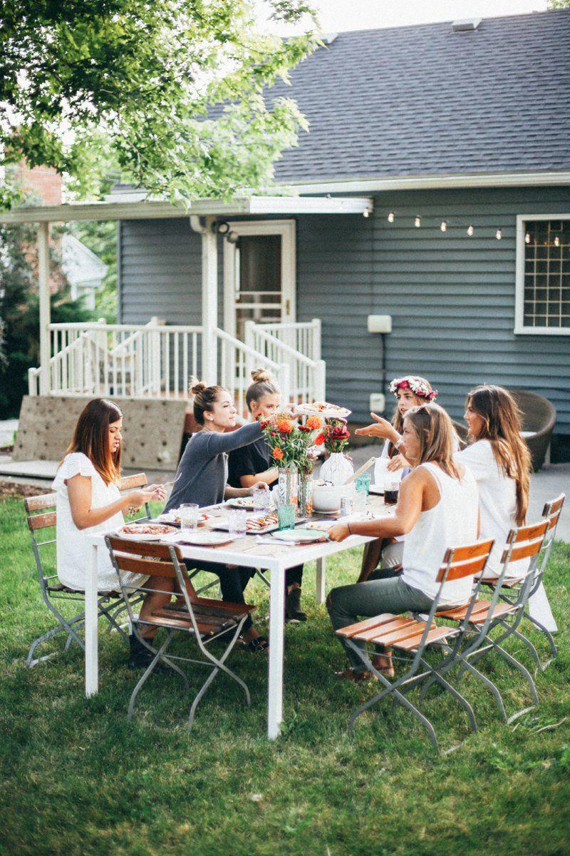 2018 with-grace-and-guts: Tessa Barton ~ Backyard Party ...