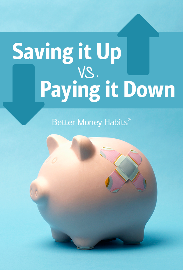 Noticing a decrease in spending and an increase in expendable income? Take advantage of it by saving a little extra cash or paying down your debt.