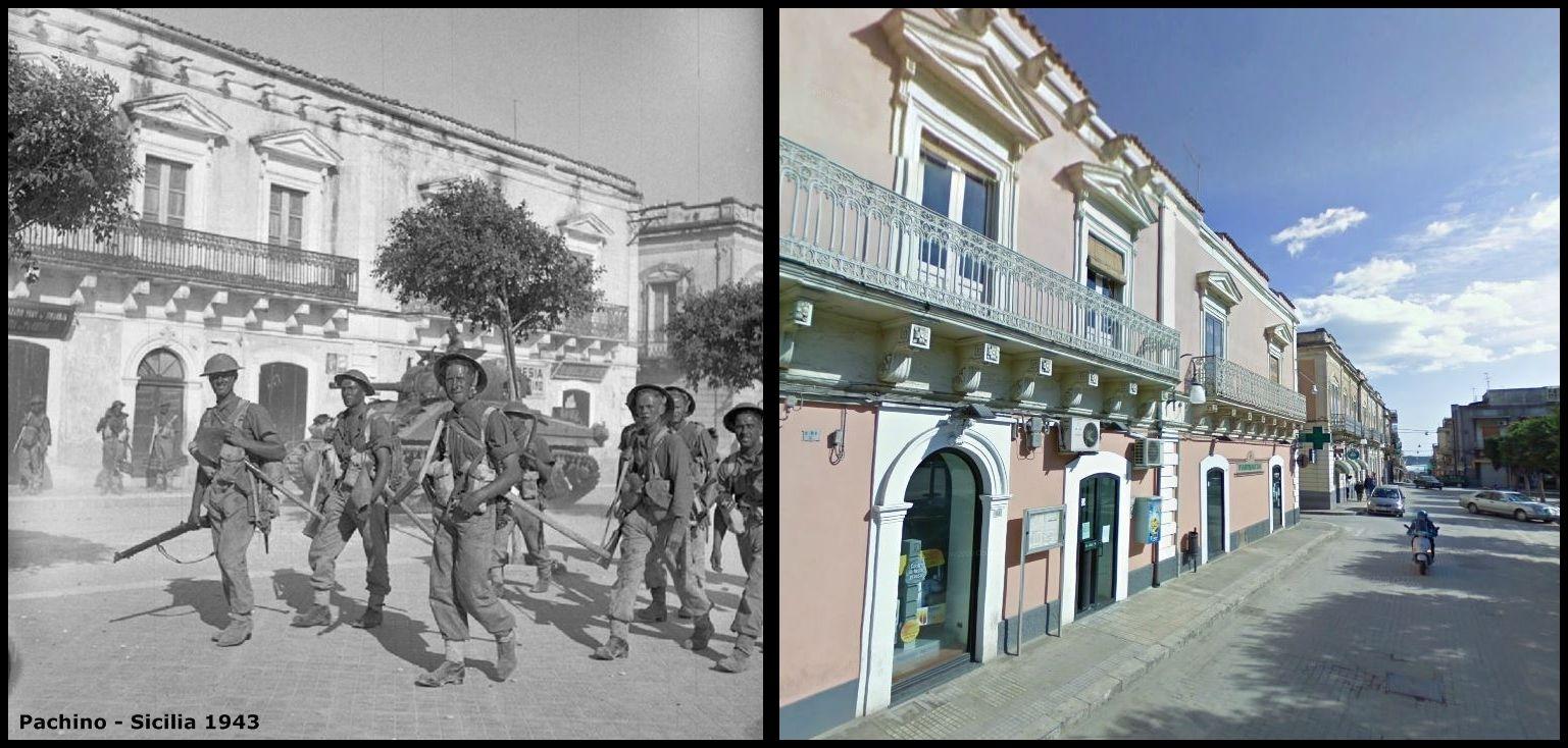 Truppe Inglesi entrano in pachino SR #Luglio1943