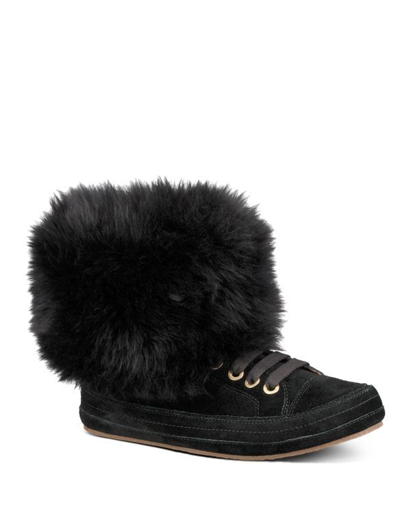 98c7bf84ae1 Ugg Women's Antoine Sheepskin Cuff High Top Sneakers | Products ...