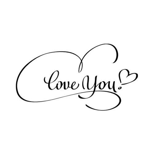 Ich liebe dich schöne schrift