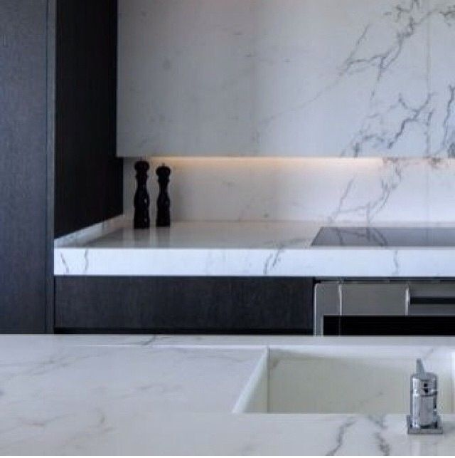 Calcutta Marble Kitchen Benchtop