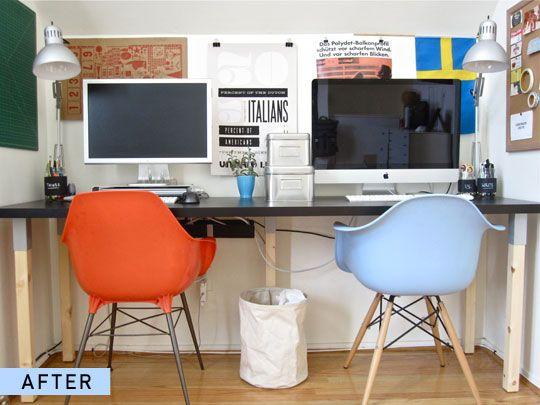 Before After A Desk Transformation Best Home Office Desk