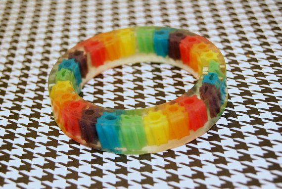 Rainbow Licorice Bracelet