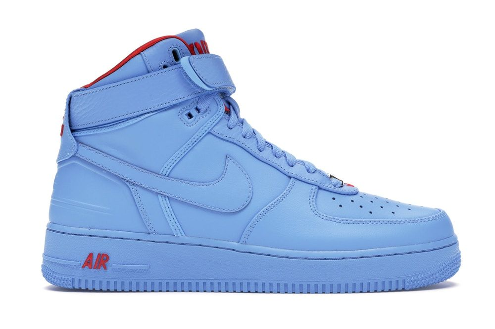 Nike Air Force 1 High Just Don All Star Blue In 2021 Nike Air Walking Shoes Women Nike