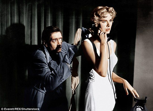 Along with Dial M For Murder, Kelly was in two other Hitchcock films: Rear Window and To C...