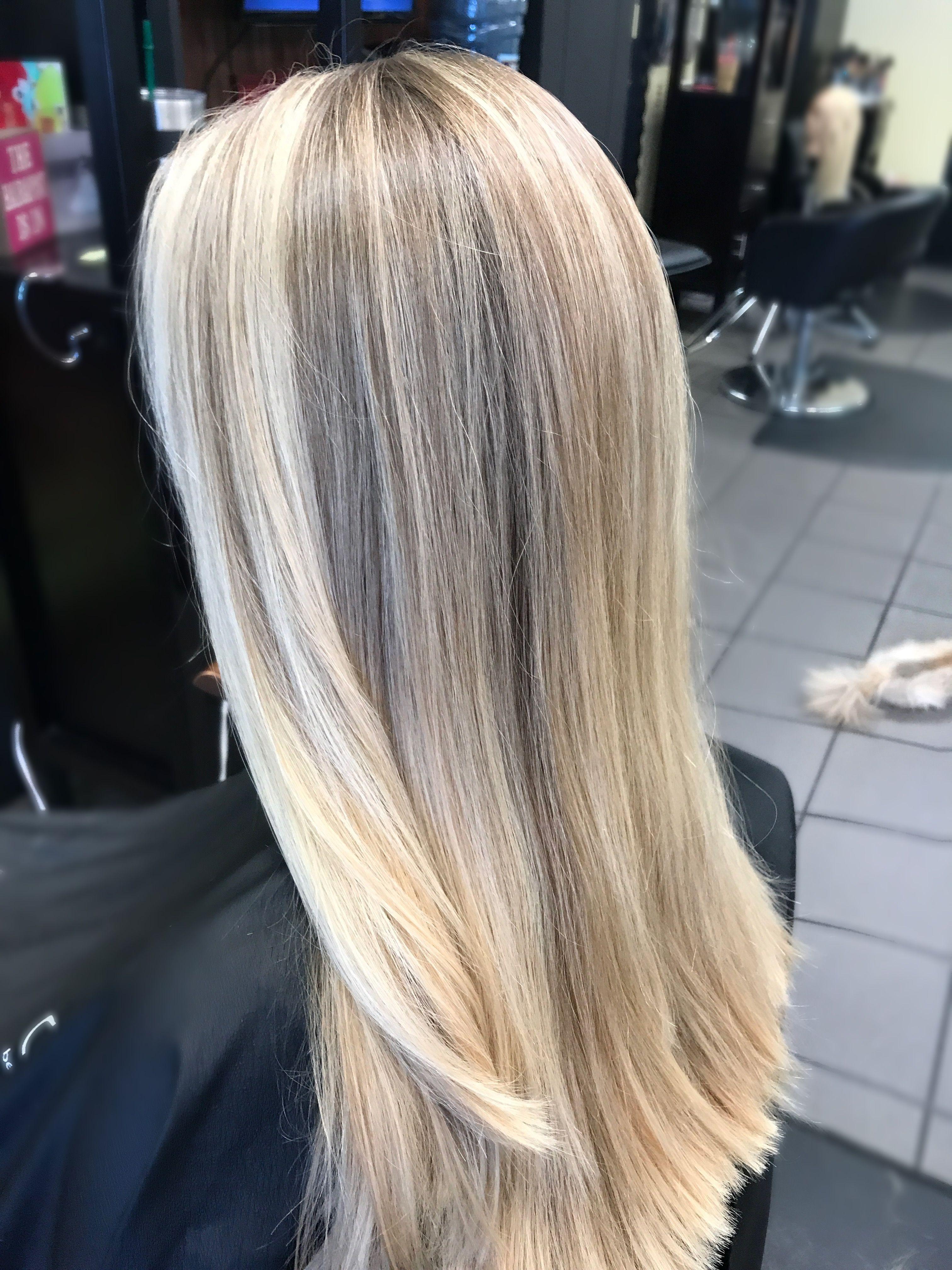 highlight haircut blonde beauty 757hair tangledupsalonvb