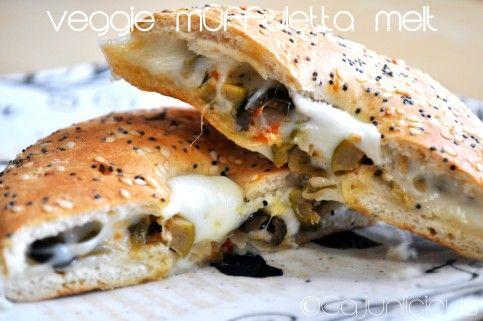 Veggie Muffuletta Melt