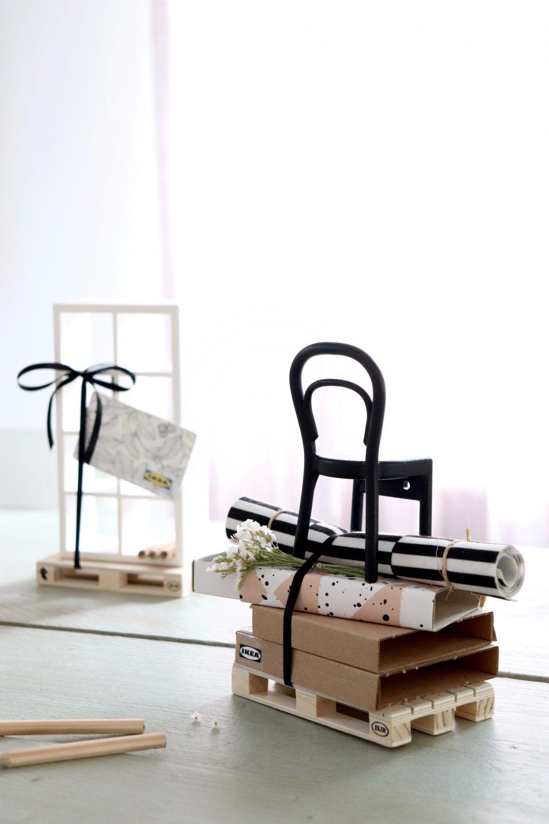 Ikea Gutschein Geschenkverpackungsidee Britta Bloggt Ikea Gutschein Gutschein Verpacken Gutschein Verpacken Hochzeit