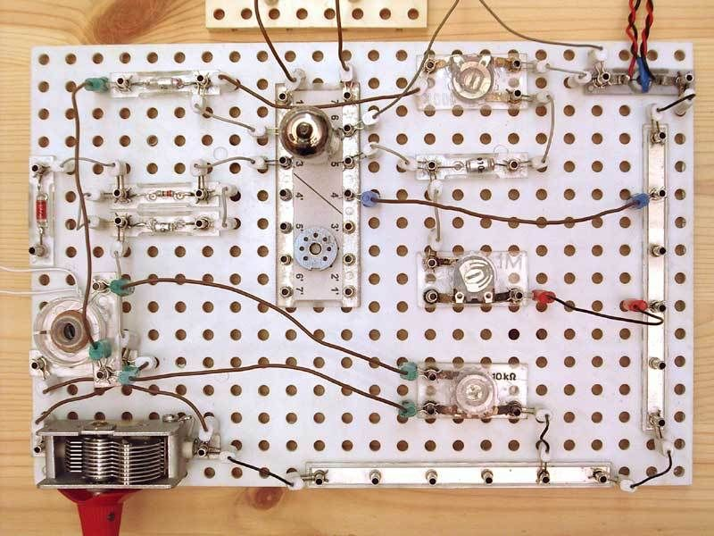 Audion mit Polytronic Baukasten gebaut.