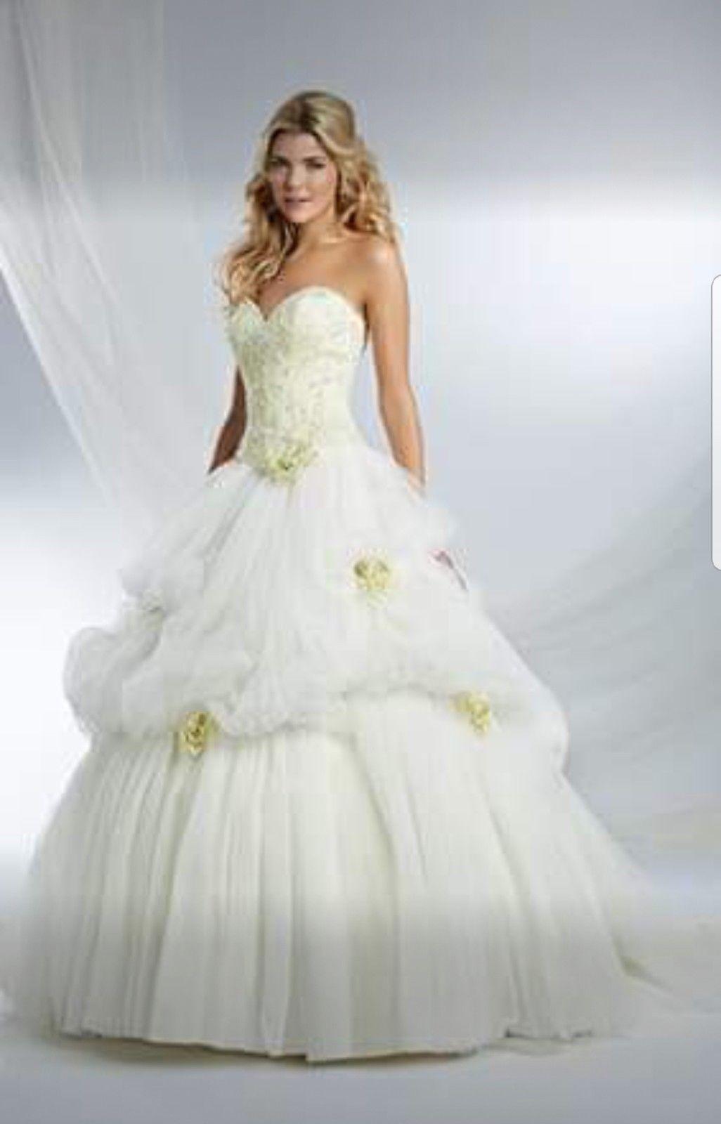 Alfred Angelo Disney Belle Wedding Dress Think Weddings