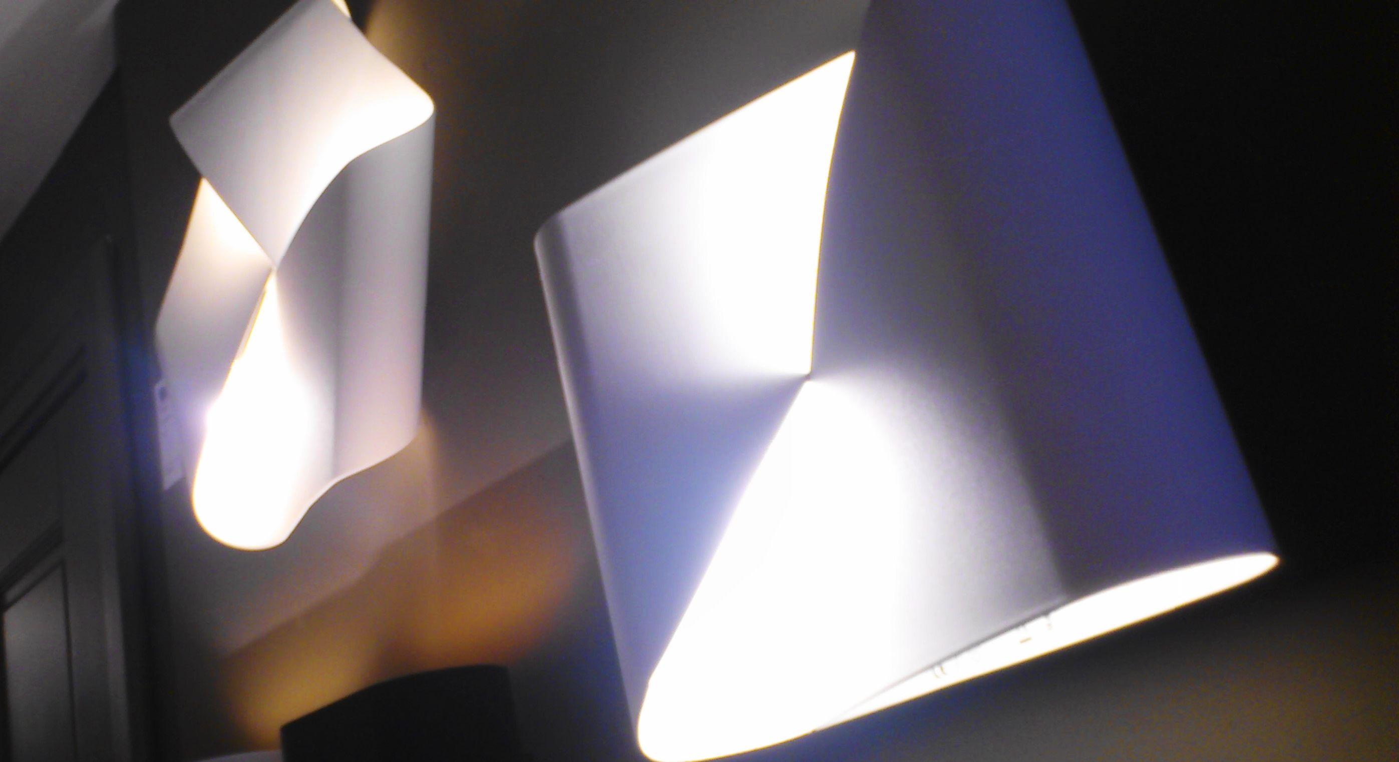 Twisted wall lights Amsterdam