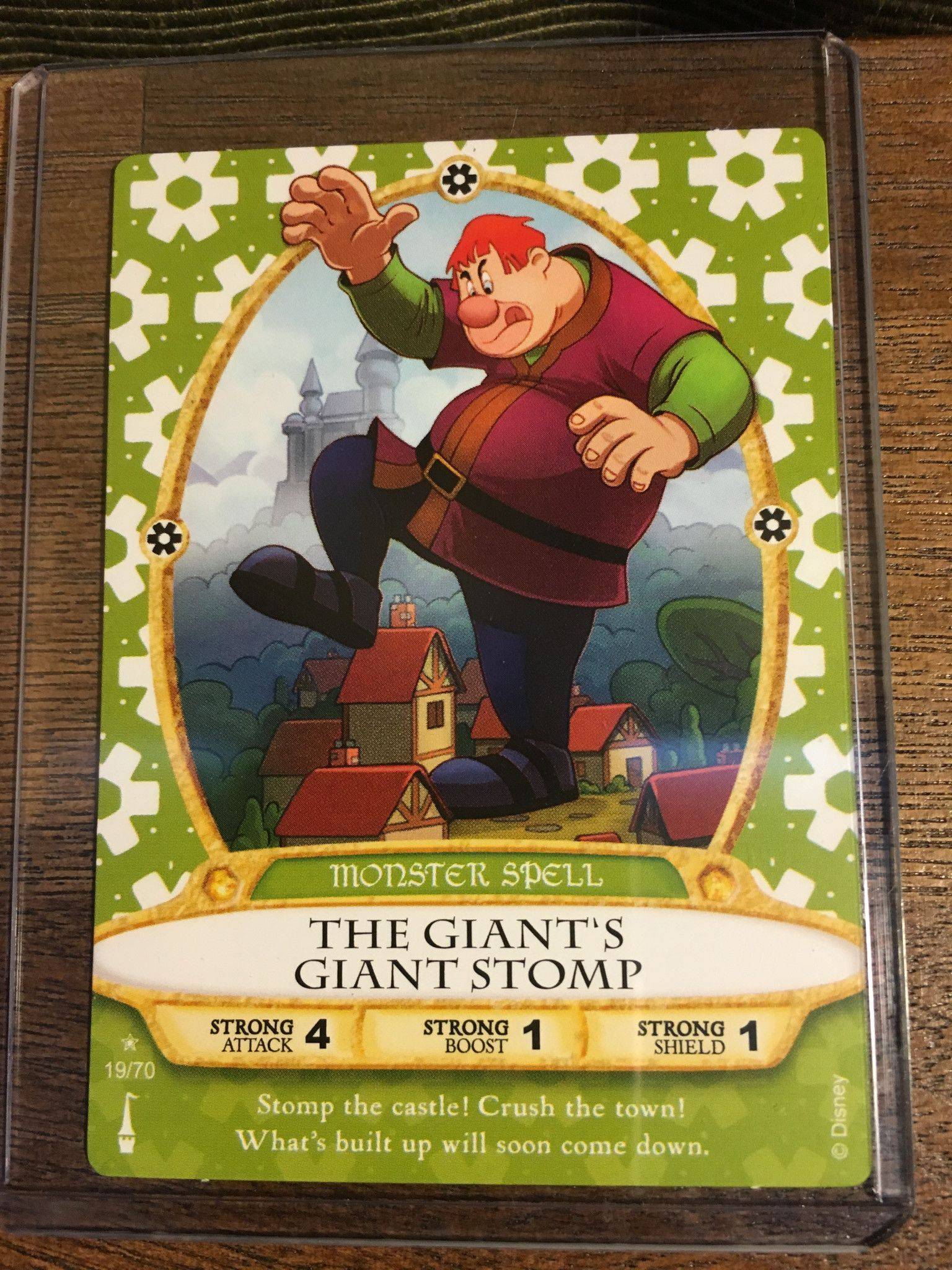 Sorcerer of the Magic Kingdom  card 19 The Giant/'s Giant Stomp