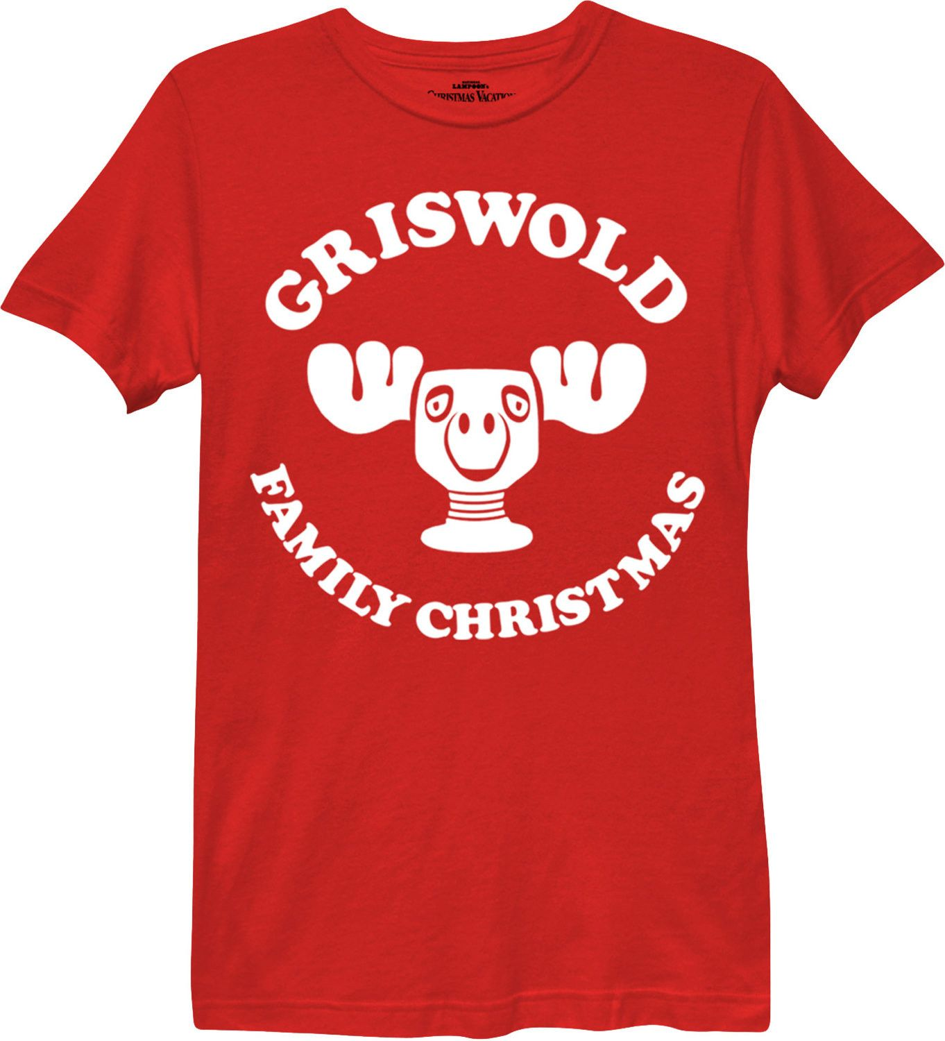 Ladies Griswold Family Christmas T-Shirt | Griswold christmas ...