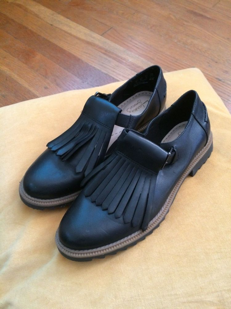 107ddc2f0623f Clarks Womens Griffin Mia Black Leather T-Bar Shoes SIZE 6 36 3.5 #fashion  #clothing #shoes #accessories #womensshoes #flats (ebay link)