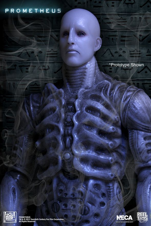 "The ""engineer"" from Prometheus."