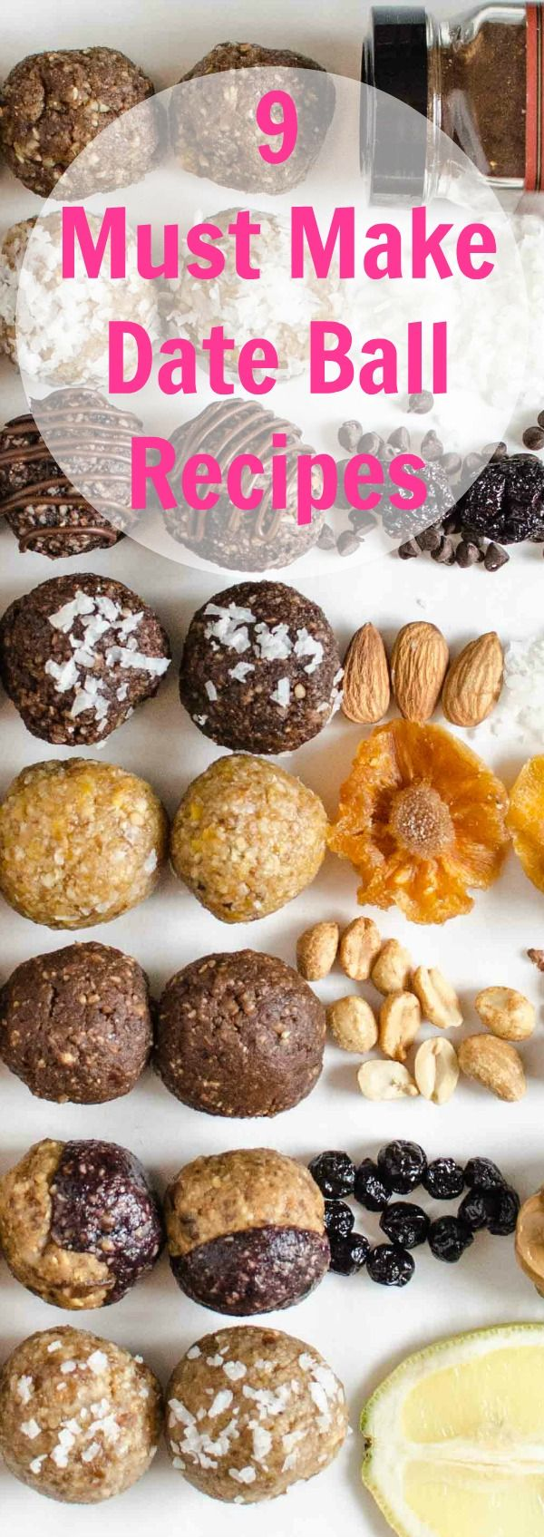 9 Healthy Energy Bites You Can Make at Home!