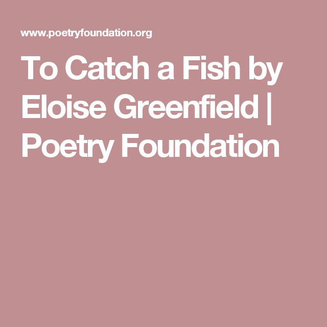 Eloise Greenfield Poems 5