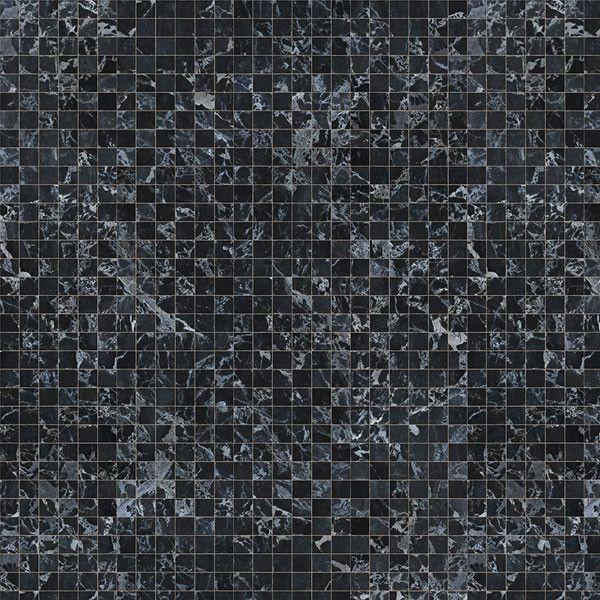 Materials Black Marble Wallpaper by Piet Hein Eek + NLXL